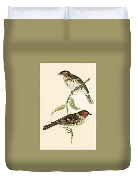 Little Bunting Duvet Cover by English School