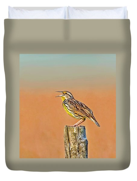 Little Songbird Duvet Cover by HH Photography of Florida