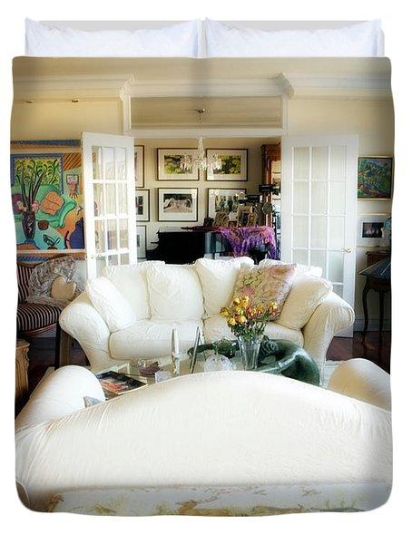 Living Room IV Duvet Cover by Madeline Ellis
