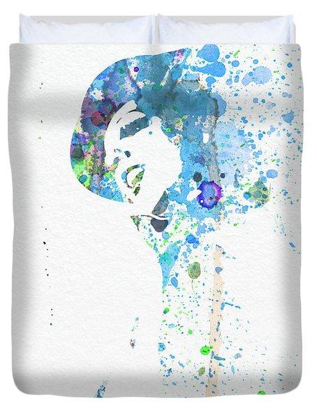 Liza Minnelli Duvet Cover by Naxart Studio