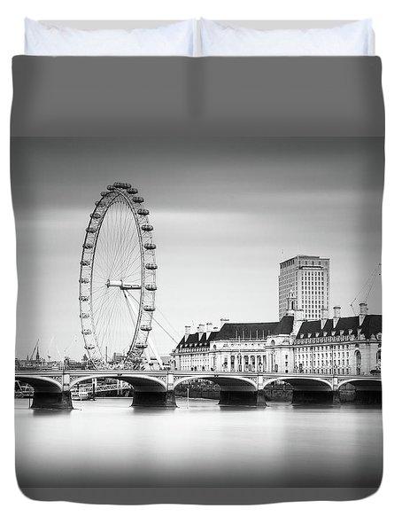 London Eye Duvet Cover by Ivo Kerssemakers