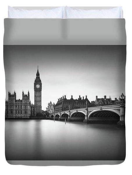 London, Westminster Bridge Duvet Cover by Ivo Kerssemakers
