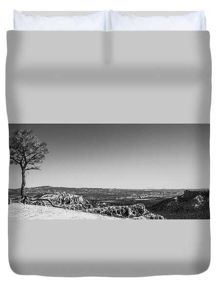 Lone Tree Duvet Cover by Chad Dutson