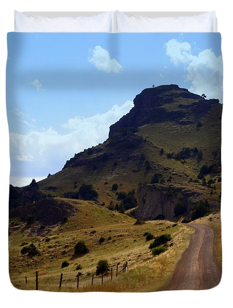 Lonly Road Duvet Cover by Marty Koch