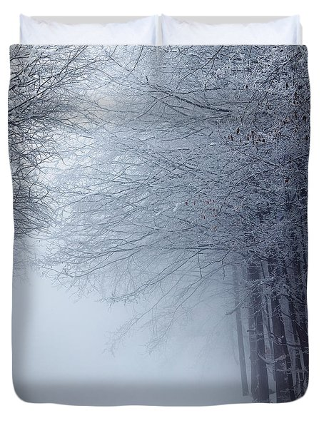 Lost Way Duvet Cover by Evgeni Dinev