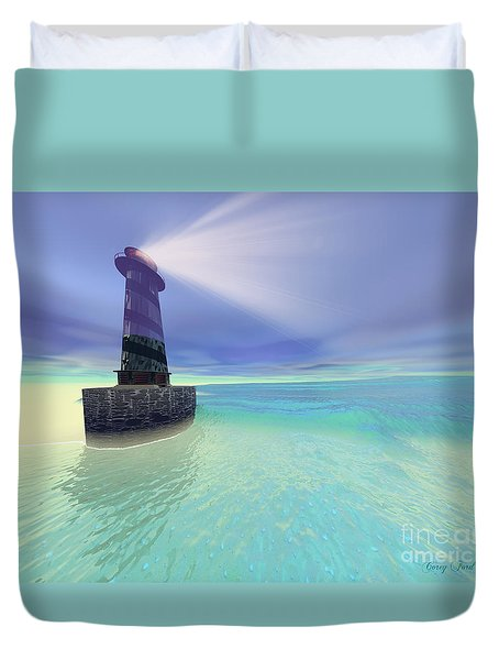 Low Fog Duvet Cover by Corey Ford
