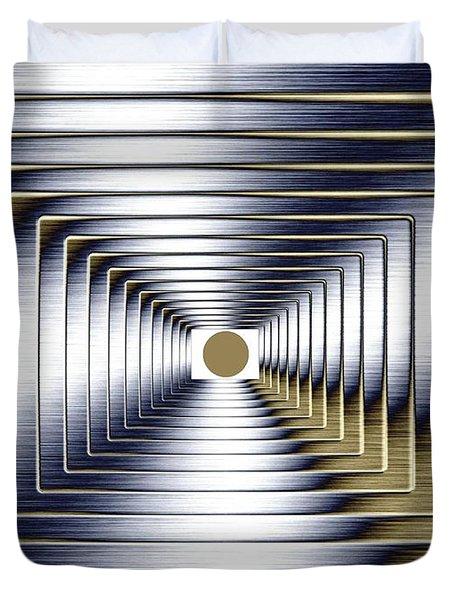Luminous Energy 1 Duvet Cover by Will Borden