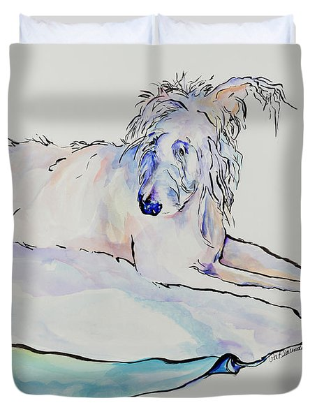 Maevis Duvet Cover by Pat Saunders-White