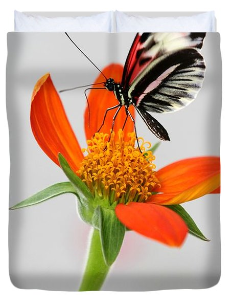 Magical Butterfly Duvet Cover by Sabrina L Ryan