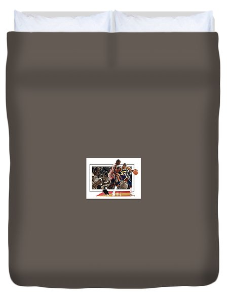 Magicandmike Duvet Cover by Dwayne Lester
