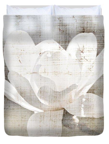 Magnolia flower Duvet Cover by Elena Elisseeva