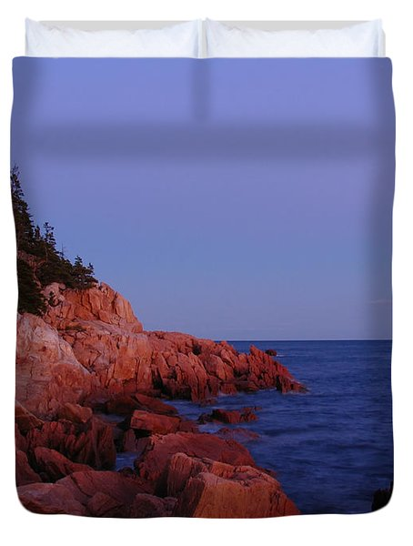 Maine Acadia Np Duvet Cover by Juergen Roth