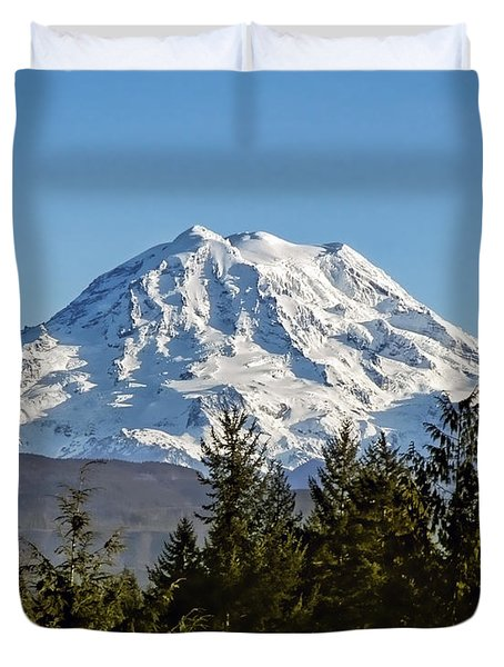 Majestic Duvet Cover by Kelley King