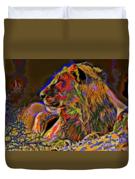 Majestic Duvet Cover by WBK