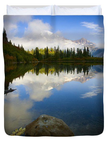 Majesty Revealed Duvet Cover by Mike  Dawson
