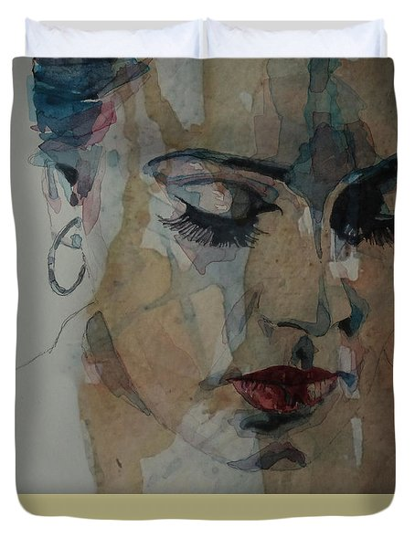 Make You Feel My Love Duvet Cover by Paul Lovering