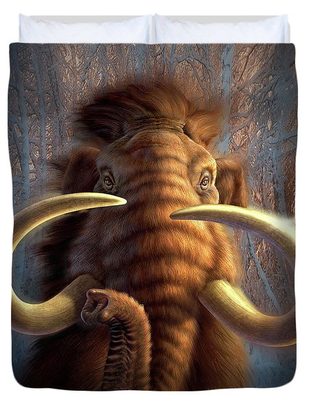 Mammoth Duvet Cover by Jerry LoFaro