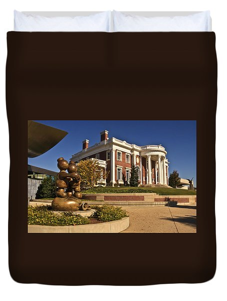 Mansion Hunter Museum Duvet Cover by Tom and Pat Cory