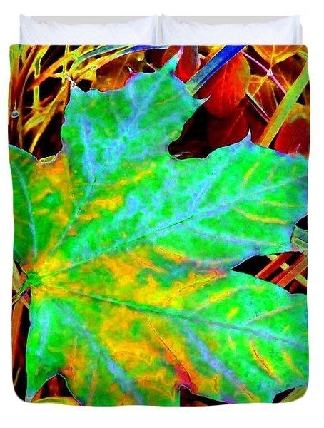 Maple Mania 21 Duvet Cover by Will Borden