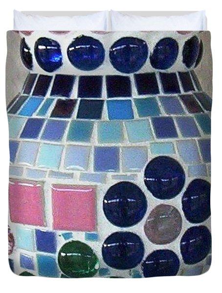 Marble Vase Duvet Cover by Jamie Frier