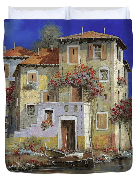 mareblu' Duvet Cover by Guido Borelli