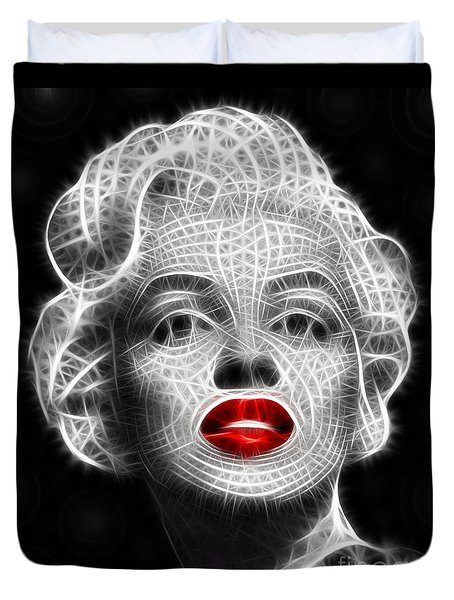 Marilyn Monroe Duvet Cover by Pamela Johnson