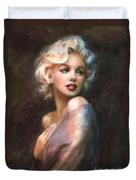 Marilyn Romantic Ww 1 Duvet Cover by Theo Danella