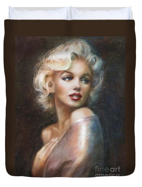 Marilyn Ww Soft Duvet Cover by Theo Danella