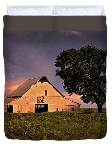 Marshall's Farm Duvet Cover by Lana Trussell