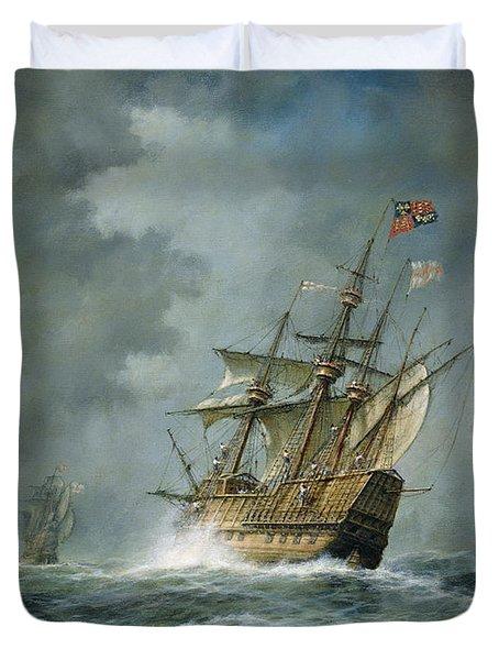 Mary Rose  Duvet Cover by Richard Willis