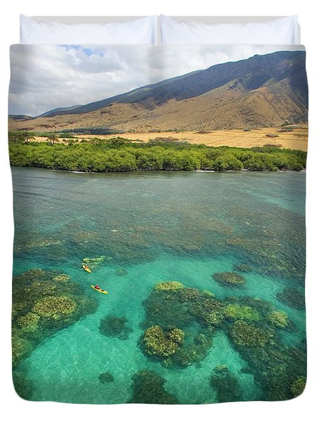 Maui Landscape Duvet Cover by Ron Dahlquist - Printscapes