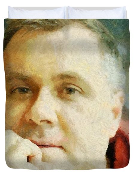 Me Duvet Cover by Jeff Kolker