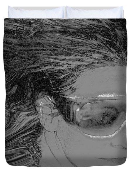 Me Duvet Cover by Linda Sannuti