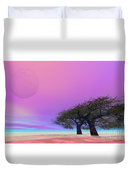 Mellow Duvet Cover by Corey Ford