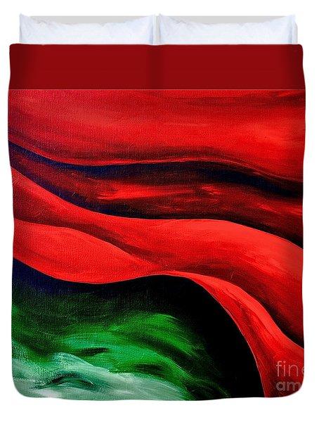 Melting Point 2 Duvet Cover by Herschel Fall
