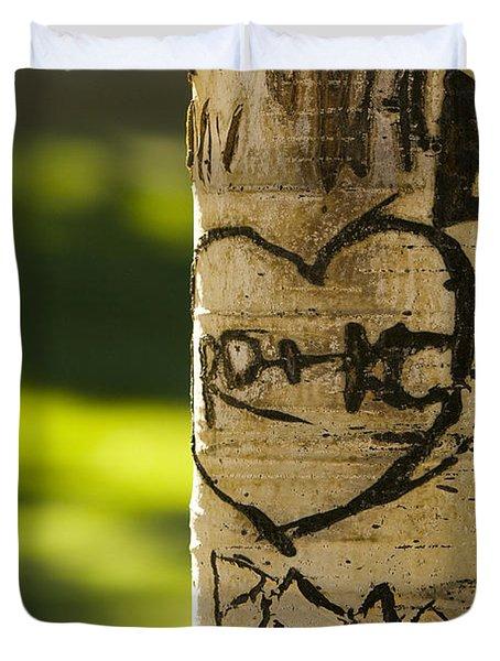 Memories In The Aspen Tree Duvet Cover by James BO  Insogna