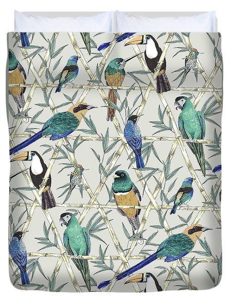 Menagerie Duvet Cover by Jacqueline Colley