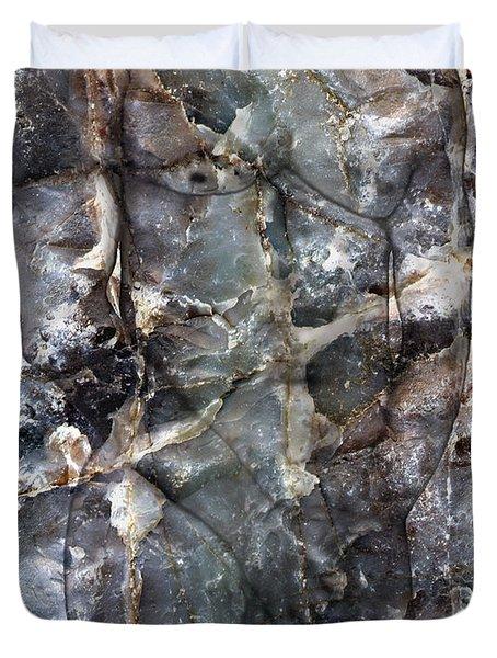 Metamorphosis  male Duvet Cover by Kurt Van Wagner