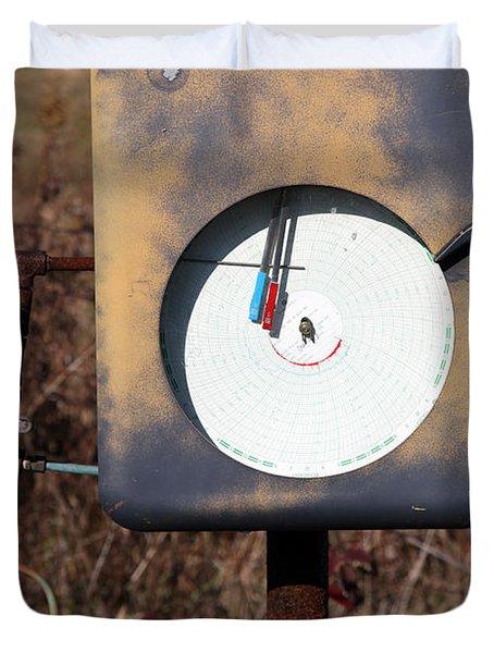 Meter Duvet Cover by Amanda Barcon