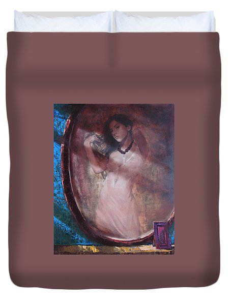 Mirror For The Sun Duvet Cover by Sergey Ignatenko