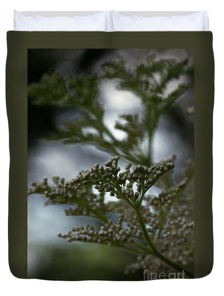Mirrored Duvet Cover by Linda Shafer