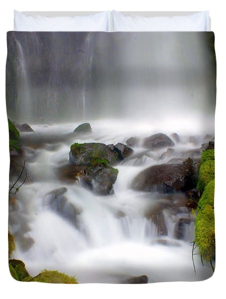 Misty Waters Duvet Cover by Marty Koch