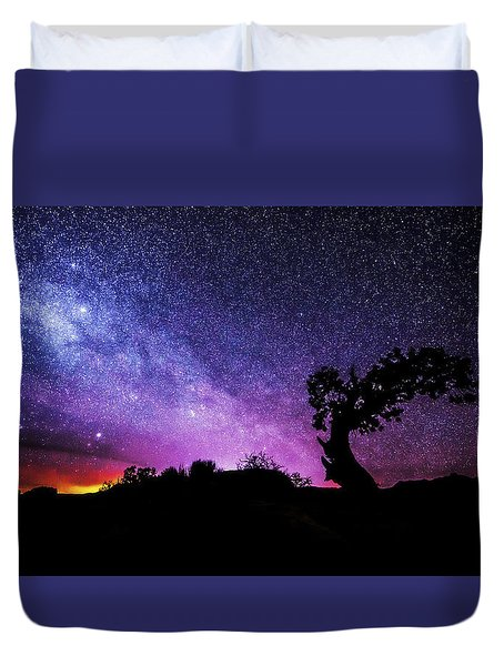 Moab Skies Duvet Cover by Chad Dutson