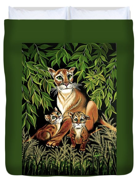 Momma's Pride And Joy Duvet Cover by Adele Moscaritolo
