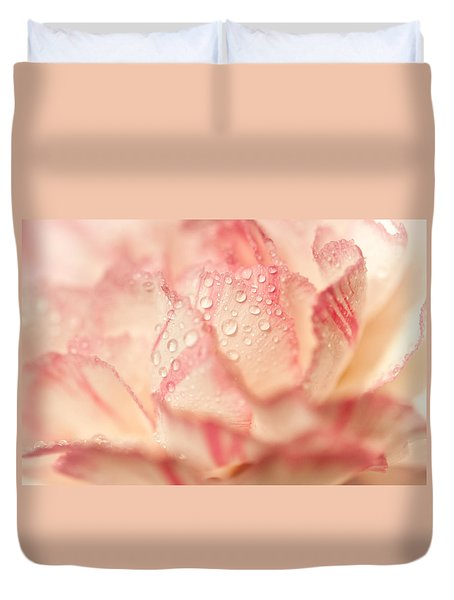Moning Freshness. Natural Watercolor. Touch Of Japanese Style Duvet Cover by Jenny Rainbow