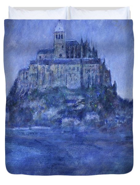 Mont St Michel Duvet Cover by Andy  Mercer