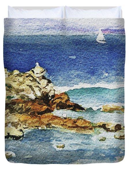 Monterey Duvet Cover by Irina Sztukowski