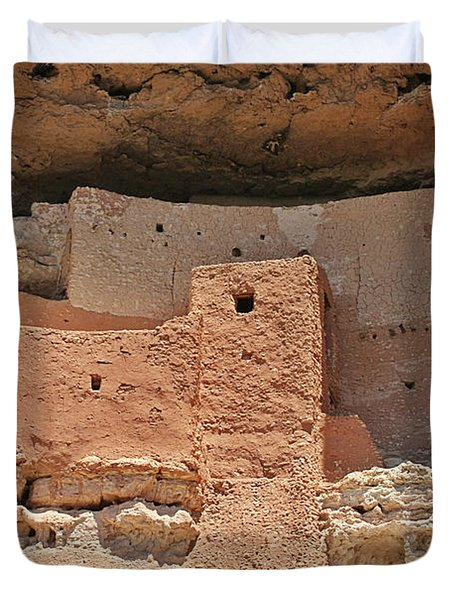 Montezuma Castle - Special in it's own way Duvet Cover by Christine Till