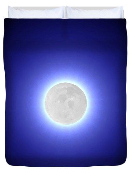 Moon Duvet Cover by Pet Serrano