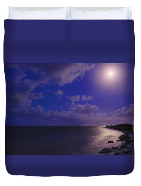 Moonlight Sonata Duvet Cover by Chad Dutson